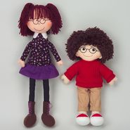 Dexter Dolls Boy and Girl Sewed-in Glasses at Kmart.com