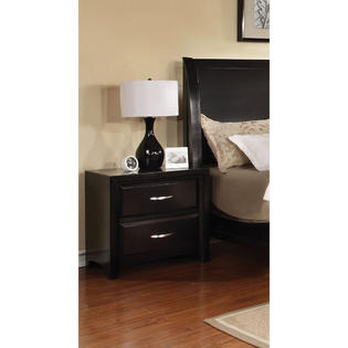Furniture of America Ardinio Modern 2-Drawer Nightstand