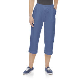 Basic Editions Women's Knit Capri Pants at Kmart.com