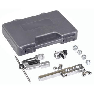 OTC 6504 Deluxe ISO Bubble Flaring Tool Set W/Cutter