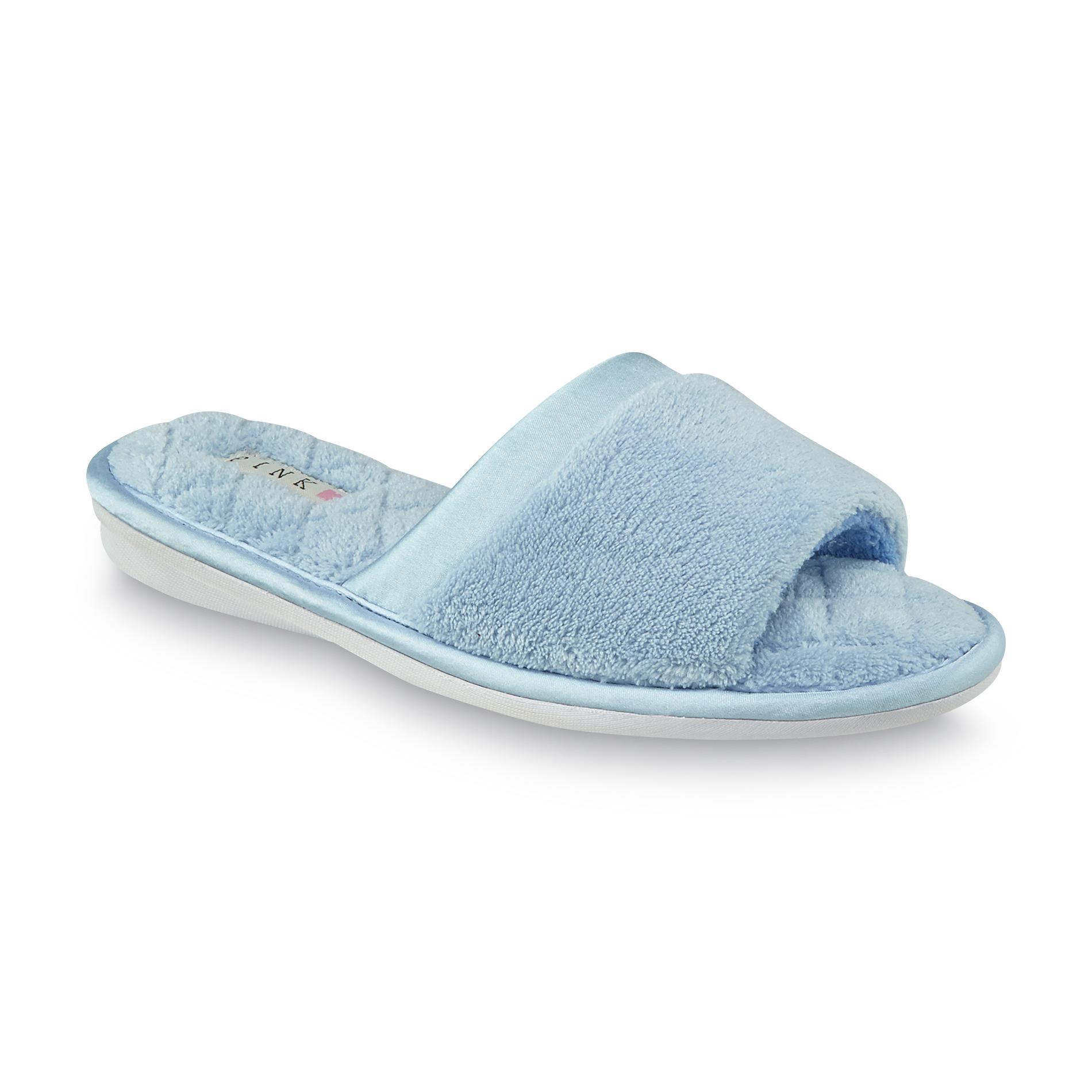 Pink K Women's Charlette Blue Open-Toe Slipper