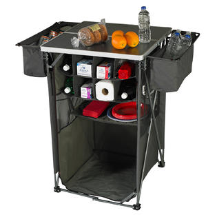 Tailgaterz Tailgating Tavern w/o Cooler in Gameday Graphite