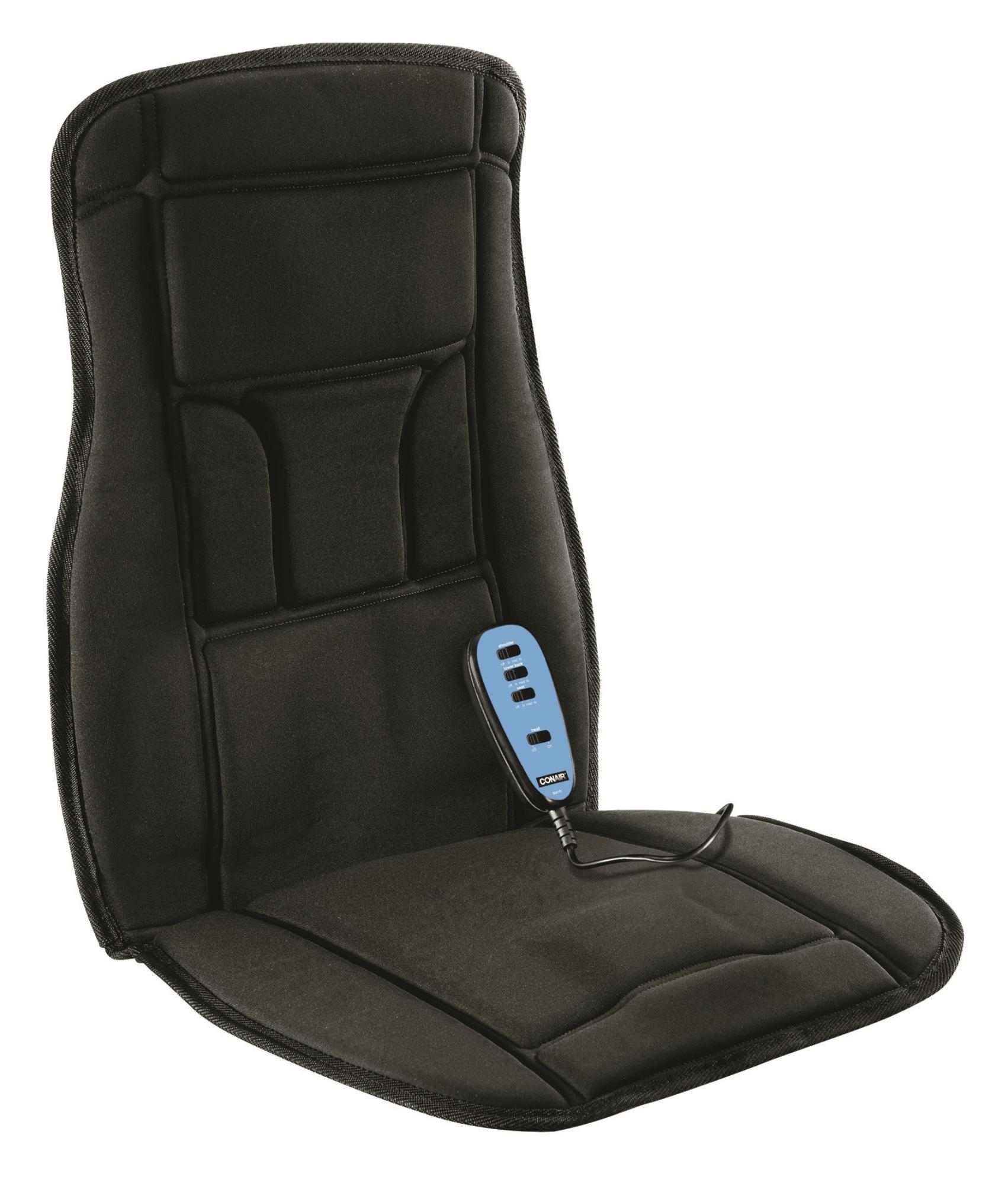 Conair Heated Massaging Seat Cushion