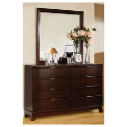 Furniture of America Tavros 8-Drawer Brown Cherry Dresser with Mirror at Kmart.com