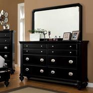 Furniture of America Felis Black Dresser with Mirror at Kmart.com