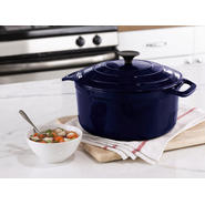 Sandra by Sandra Lee 5.5QT Dutch Oven- Blue at Kmart.com
