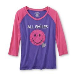 Joe Boxer Women's Pajama Shirt & Fleece Pants - Smiles at Kmart.com