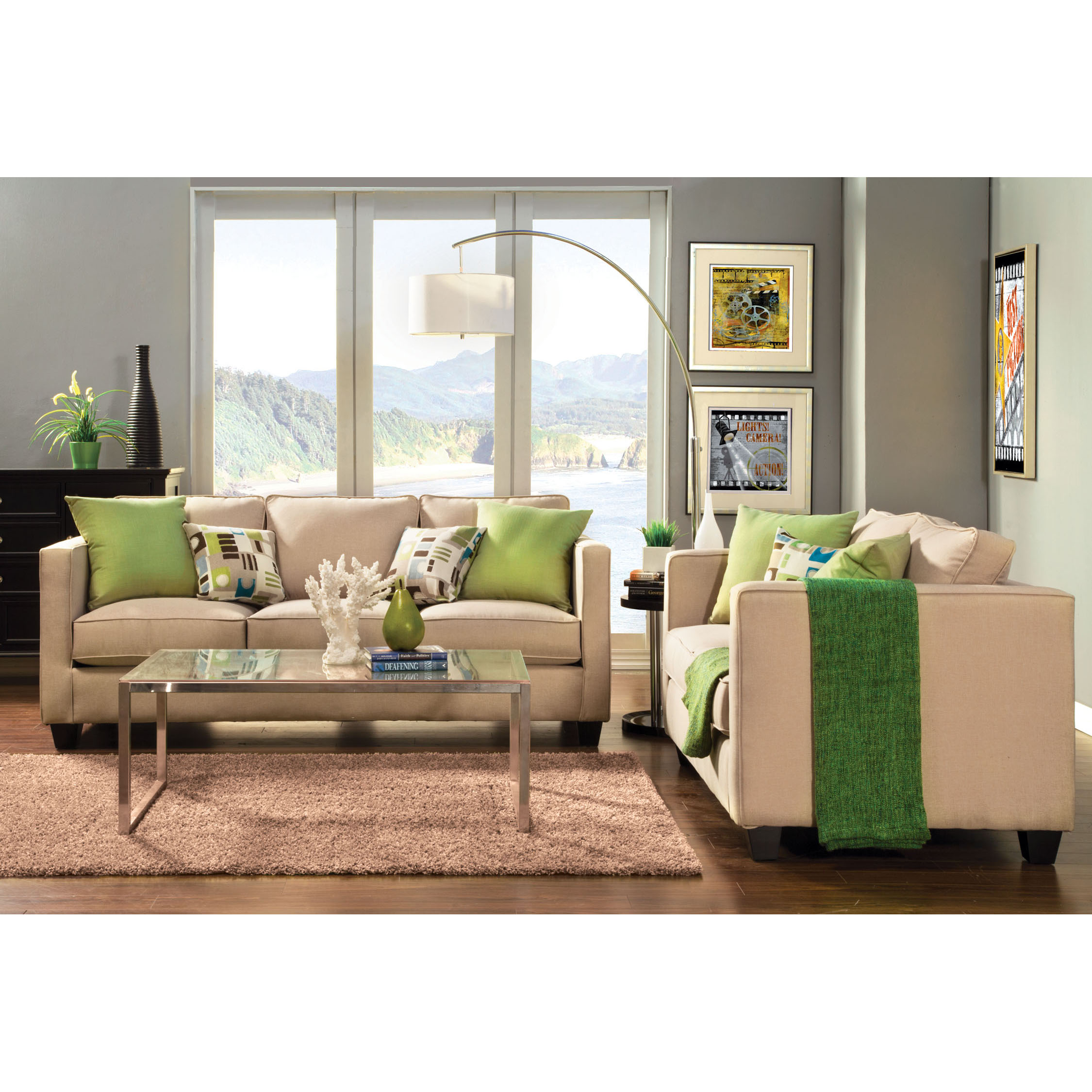 Furniture of America Vieve Transitional Style Sofa