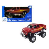 Just Kidz Radio Control 13 Inch Truck - Red Silverado at mygofer.com