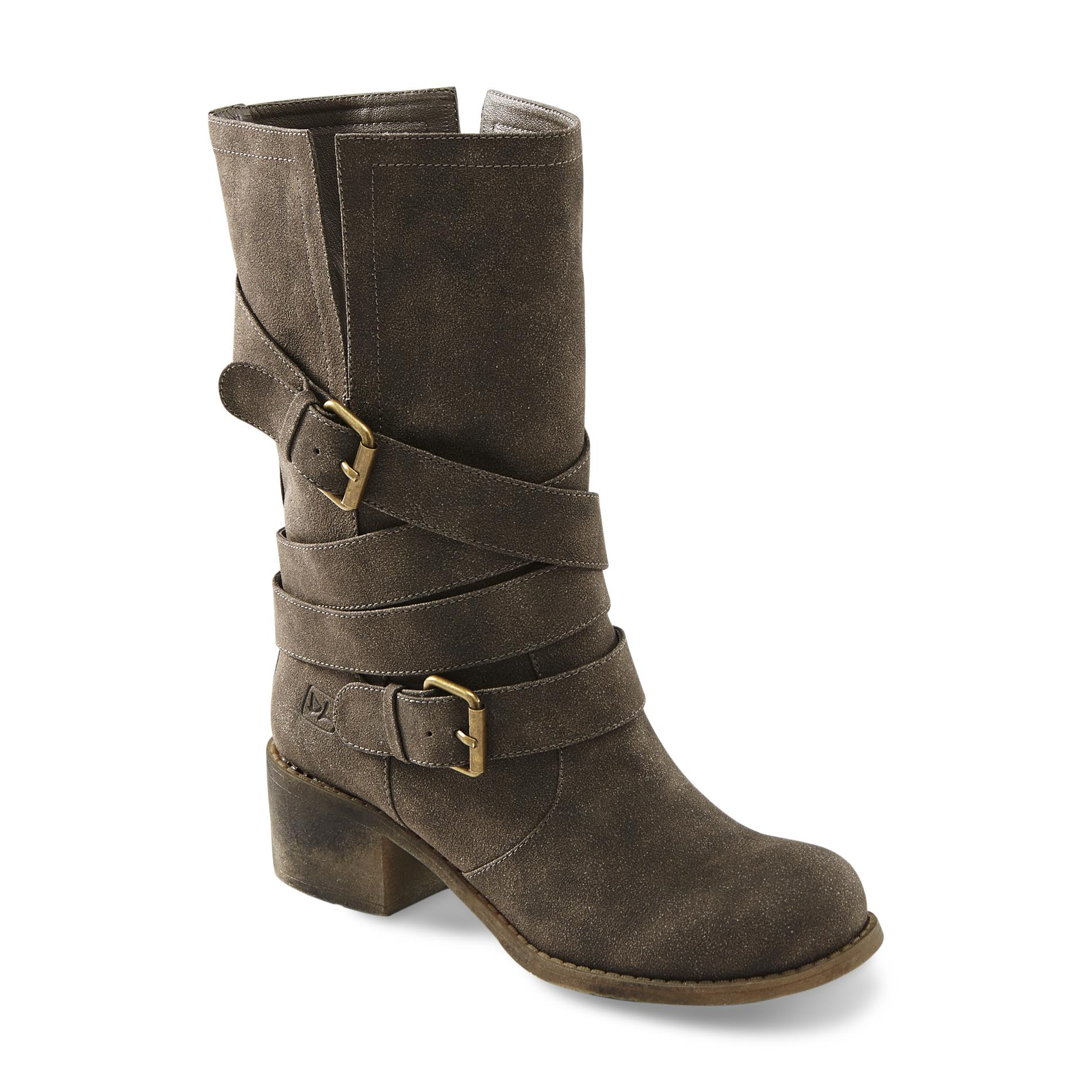 """Dirty Laundry Women's Check It Out 10"""" Olive Riding Boot PartNumber: 054VA79588312P MfgPartNumber: GCZQ06QUD"""