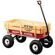 RADIO FLYER All-Terrain Steel & Wood Wagon at Sears.com