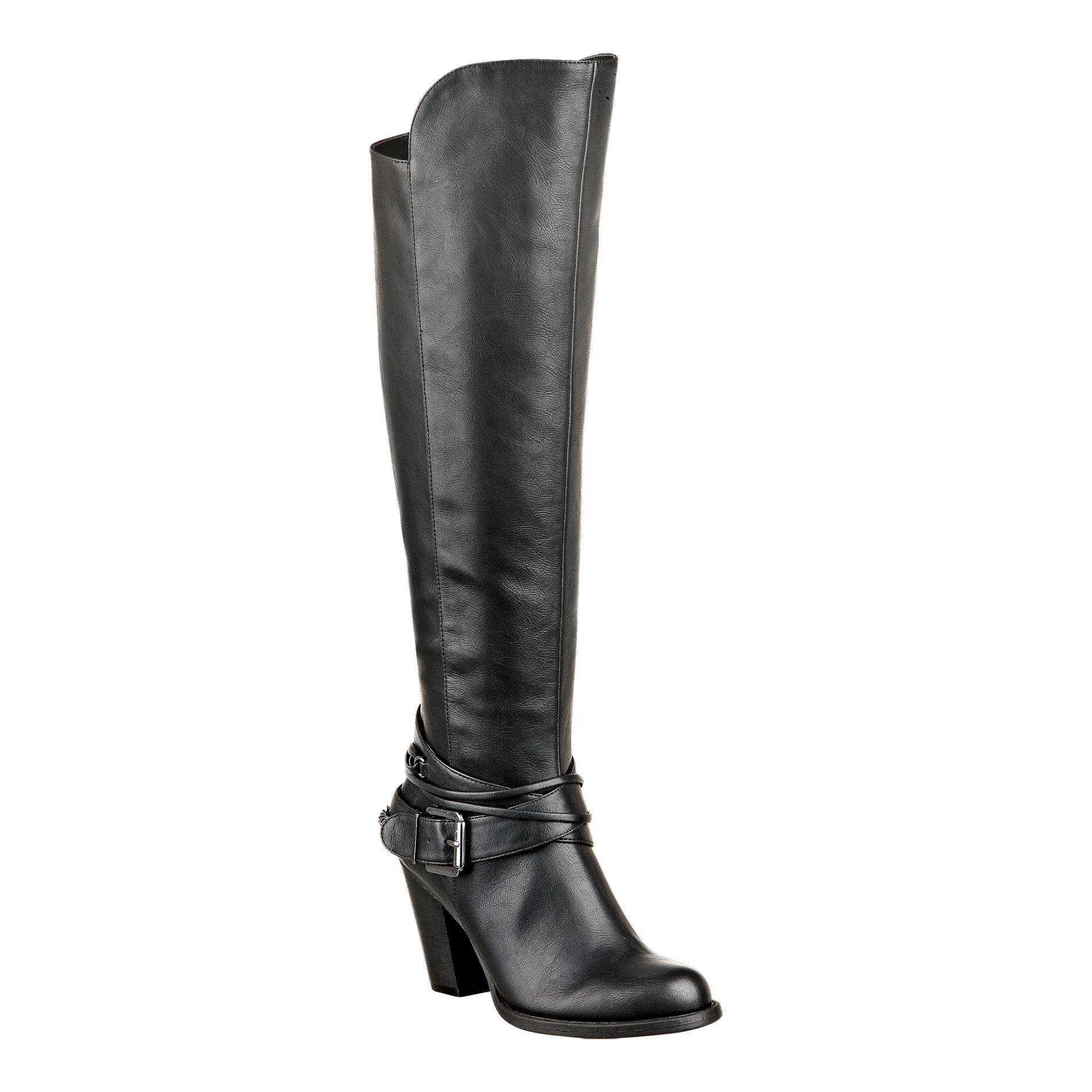 Pink & Pepper Women's Author Black Tall Boot PartNumber: 054VA79592012P MfgPartNumber: AUTHOR