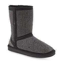 Bolaro Women's Toasty 8'' Black Spangled Fashion Boot at Kmart.com