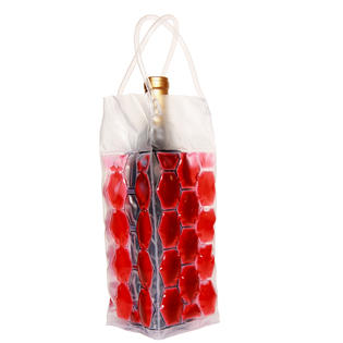 Natico Wine Cooler Bag, 4-Sided, Red - 2 PK