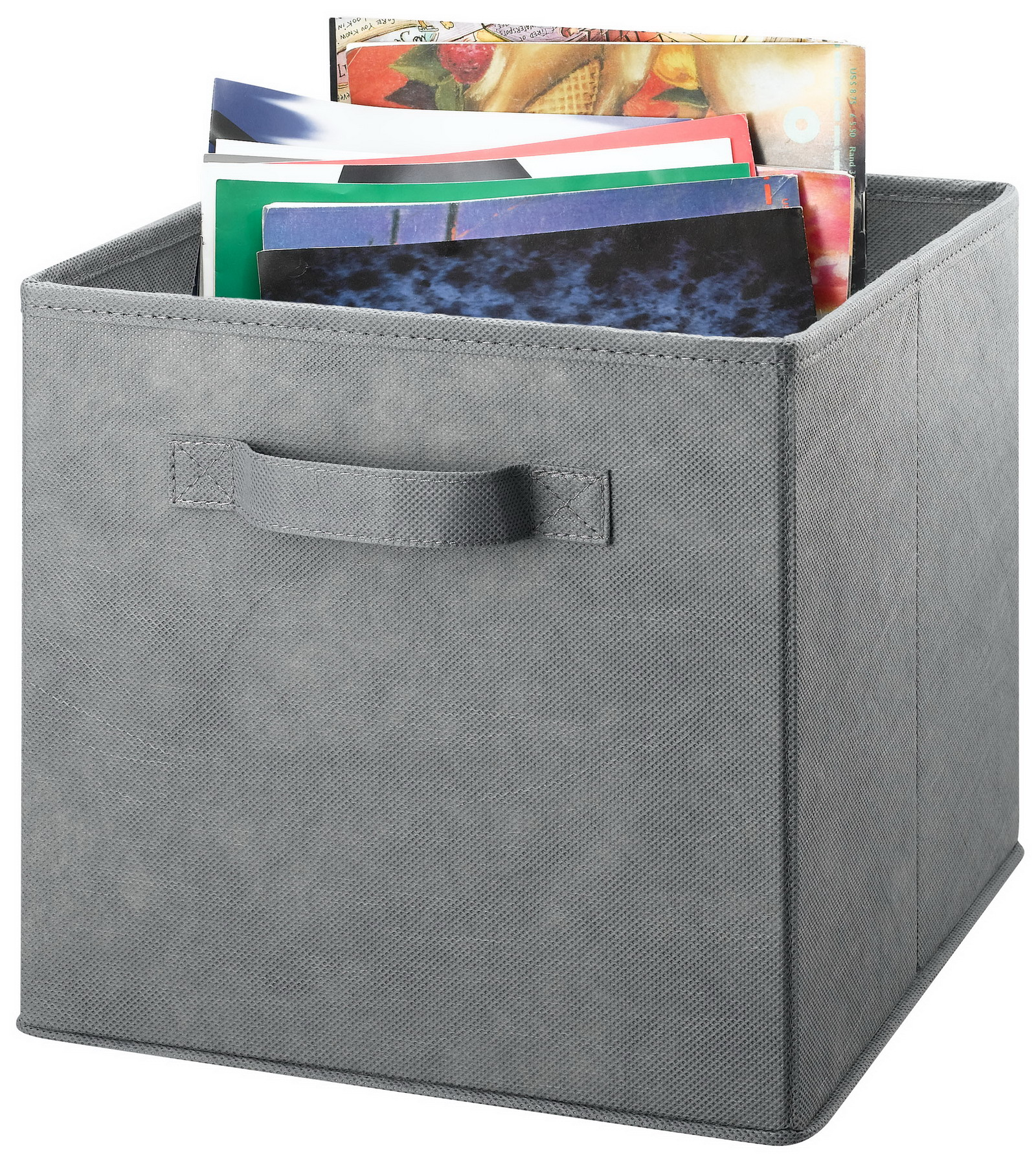 Image of Essential Home Foldable Storage Bin - Gray