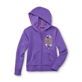 Joe Boxer Girl's Fleece Hoodie Jacket - Hearts at Kmart.com