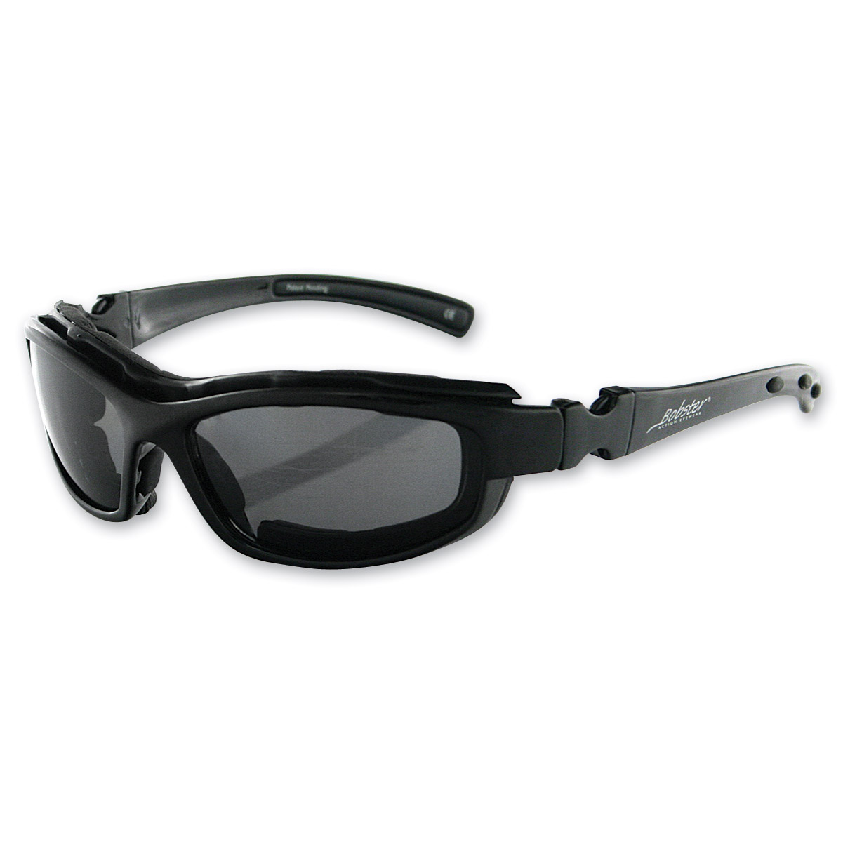 Bobster BRH2001 Road Hog II Convertible Black Sunglasses 4 Lens PartNumber: 00667366000P