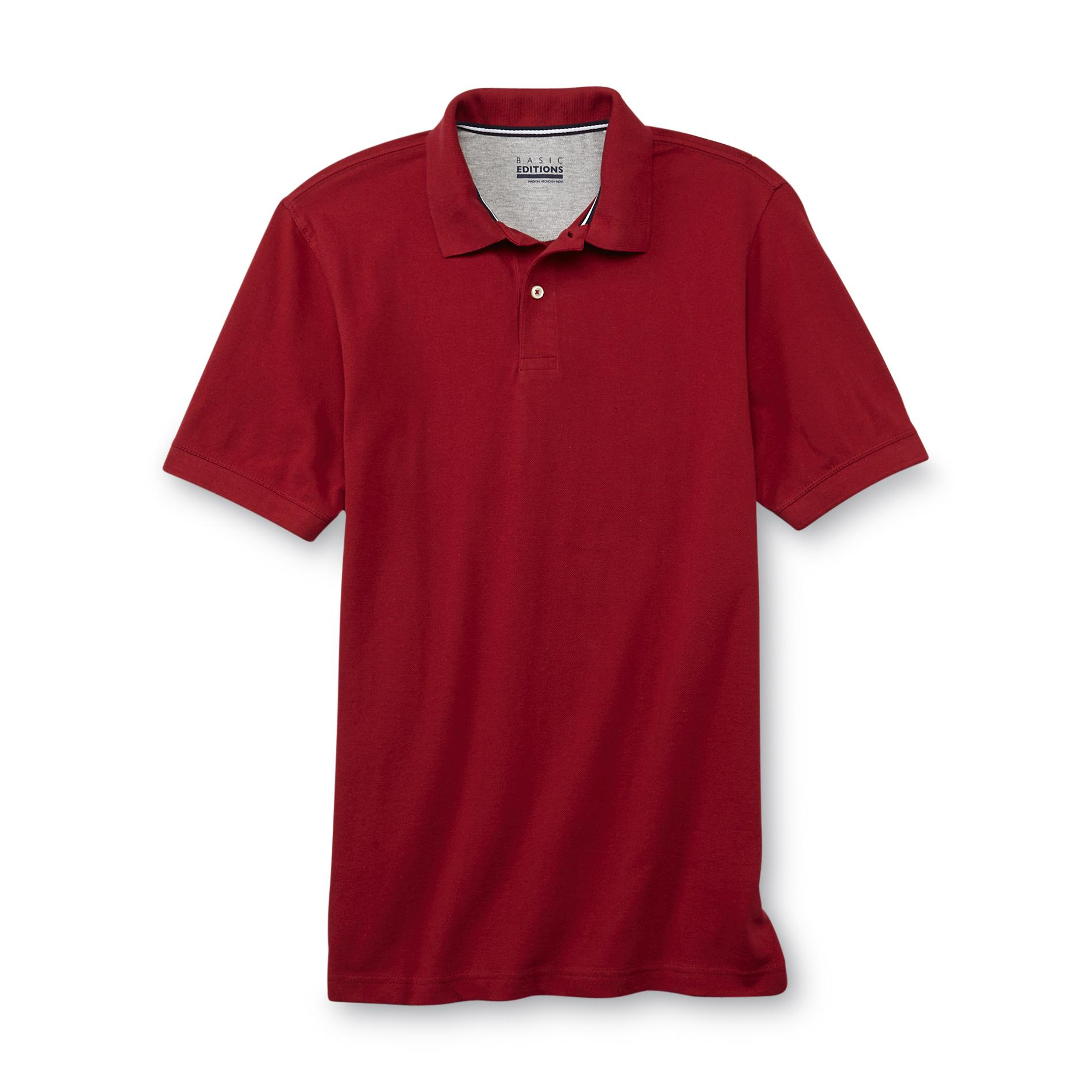 Basic Editions  Men's Big & Tall Polo Shirt