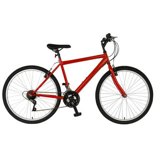 Cycle Force Group Cycle Force 26 inch Rigid Mens Mountain Bike, Red