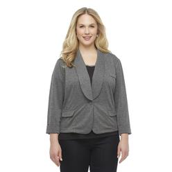 Women's Plus Casual Blazer at Kmart.com