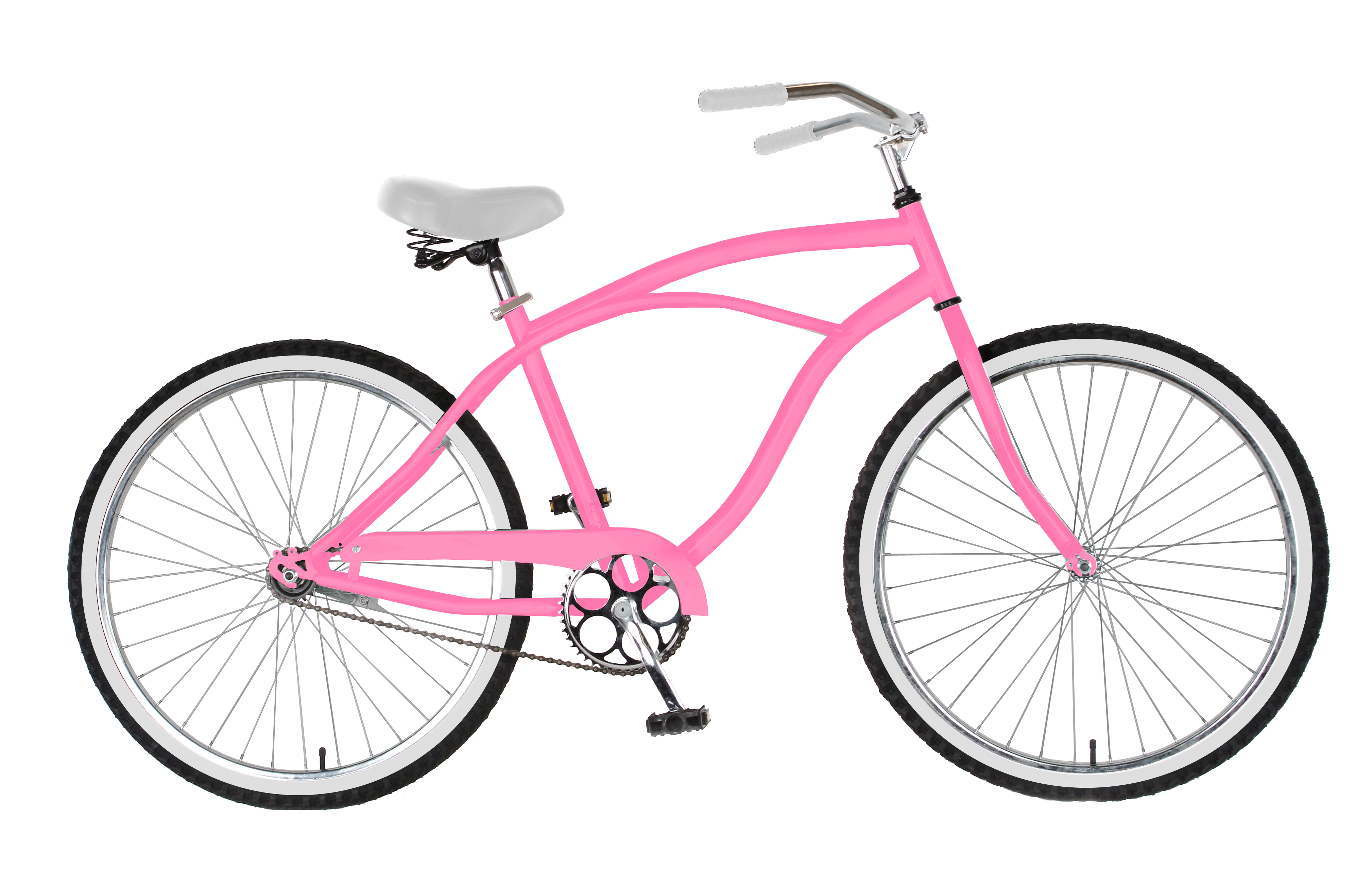 Cycle Force Group 26 inch Mens Cruiser Bike, Pink