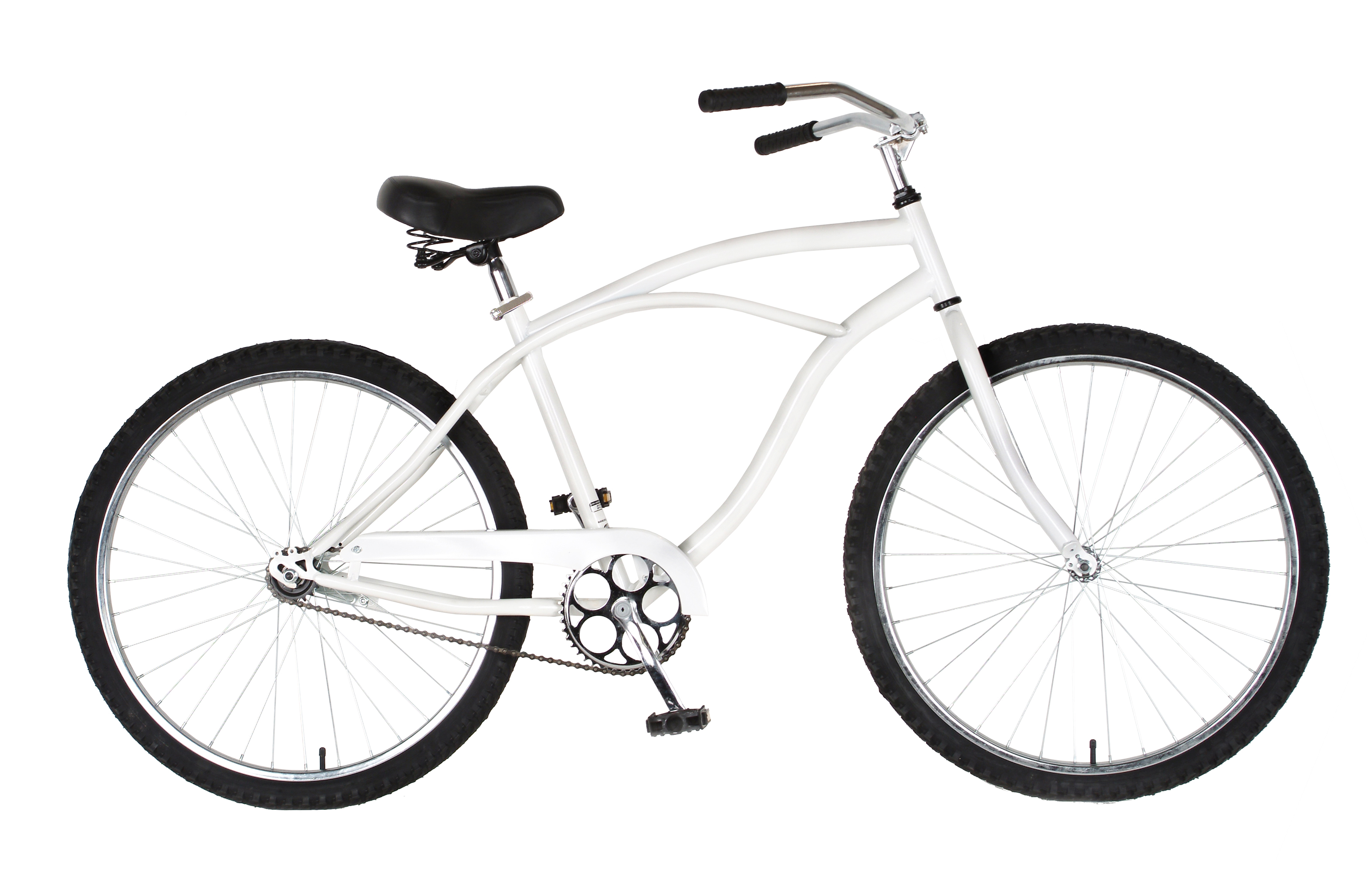 Cycle Force Group Cycle Force 26 inch Mens Cruiser Bike, White