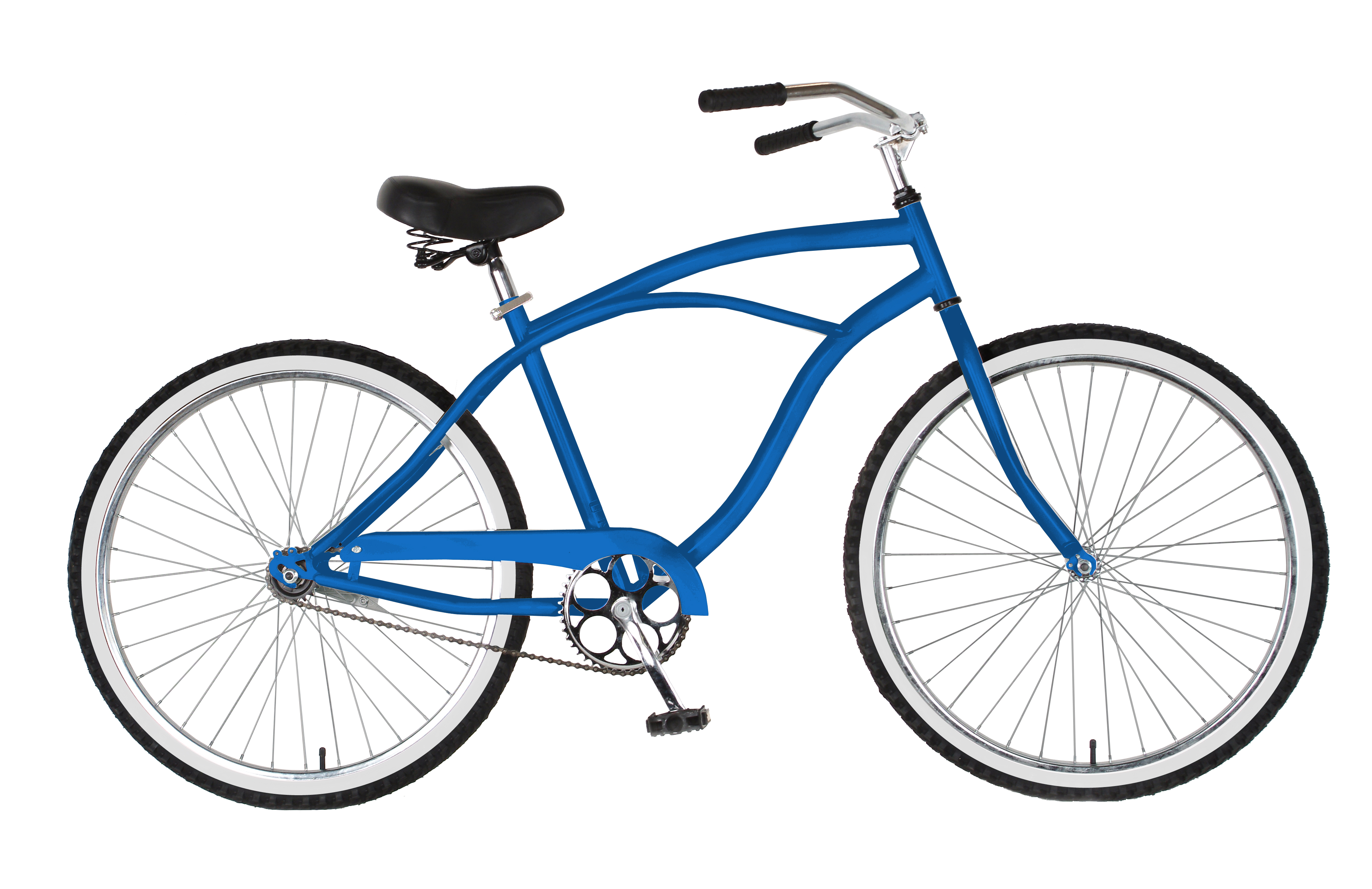 Cycle Force Group 26 inch Mens Cruiser Bike, Blue