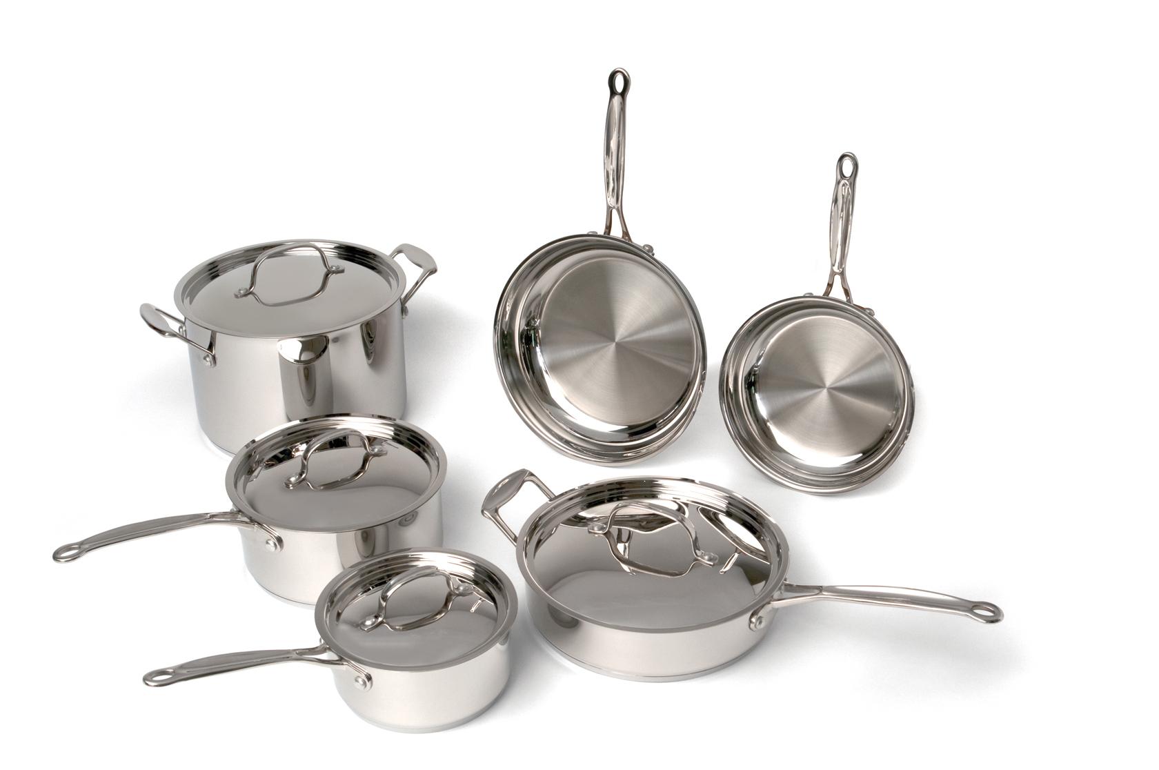EarthChef Premium Copper Clad 10pc Cookware Set