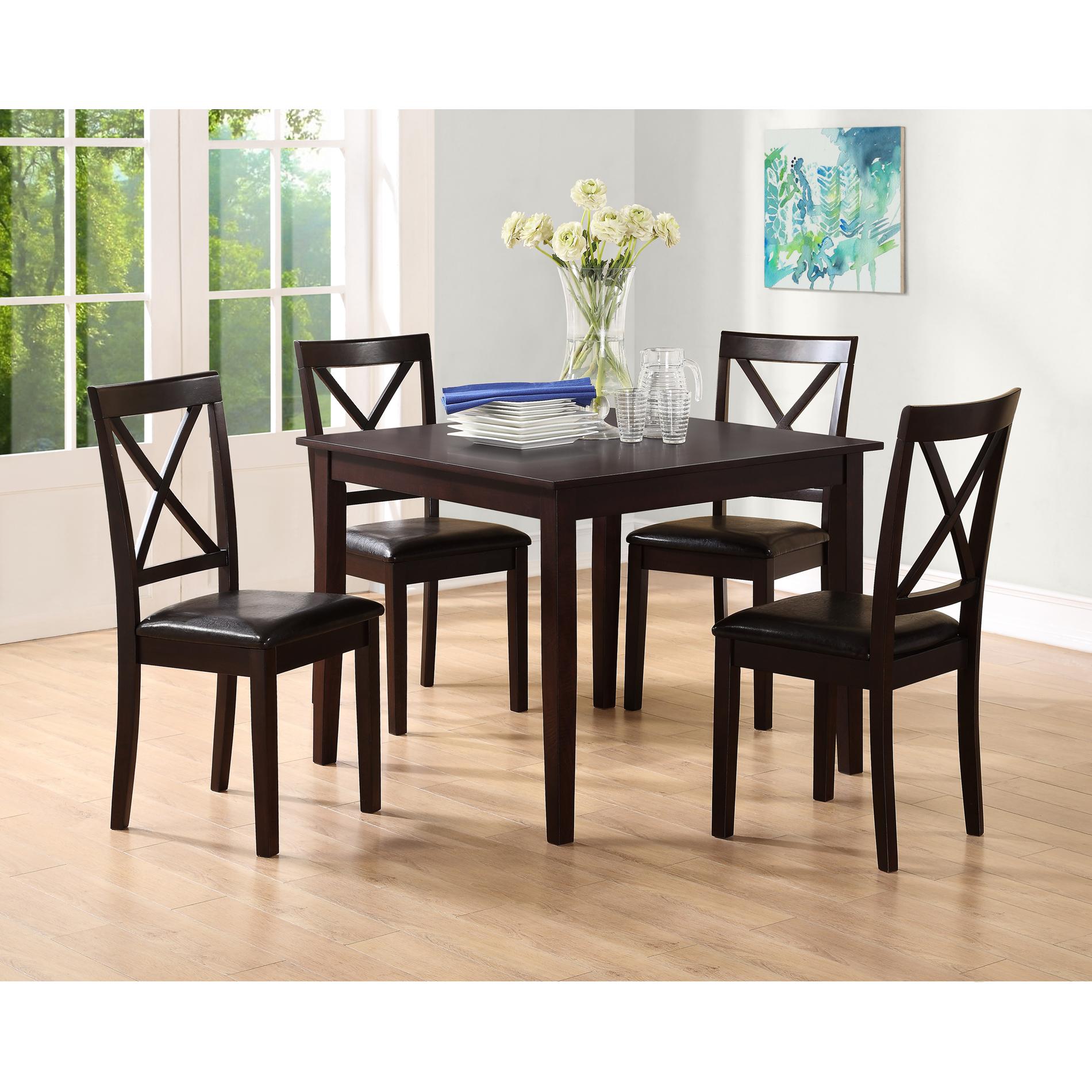 Essential Home Sydney 5 pc Dining Set  sc 1 st  Kmart & Dining Sets   Dining Room Table \u0026 Chair Sets - Kmart