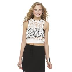 Bongo Junior's Sleeveless Crochet Crop Top at Kmart.com