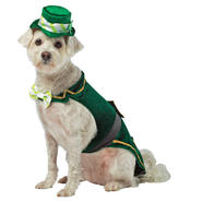 Leprechaun Dog Costume X-Small at Sears.com