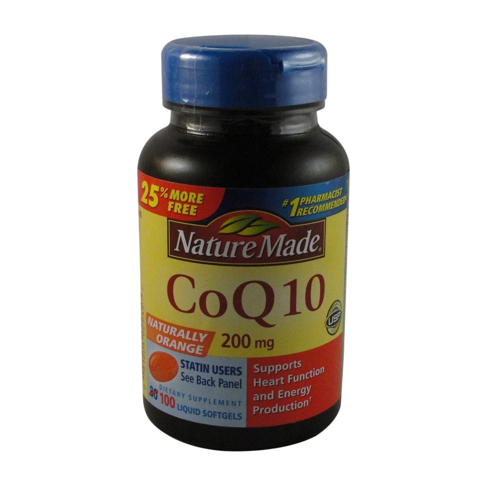 Nature Made Coq10 200 Mg Value Size 100 ct.