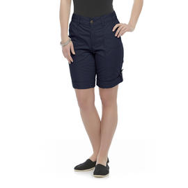 Basic Editions Women's Cuffed Shorts at Kmart.com