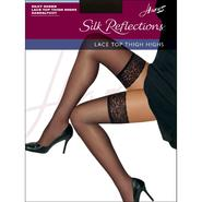 Hanes Pantyhose Silky Sheer Lace Top Thigh High at Sears.com