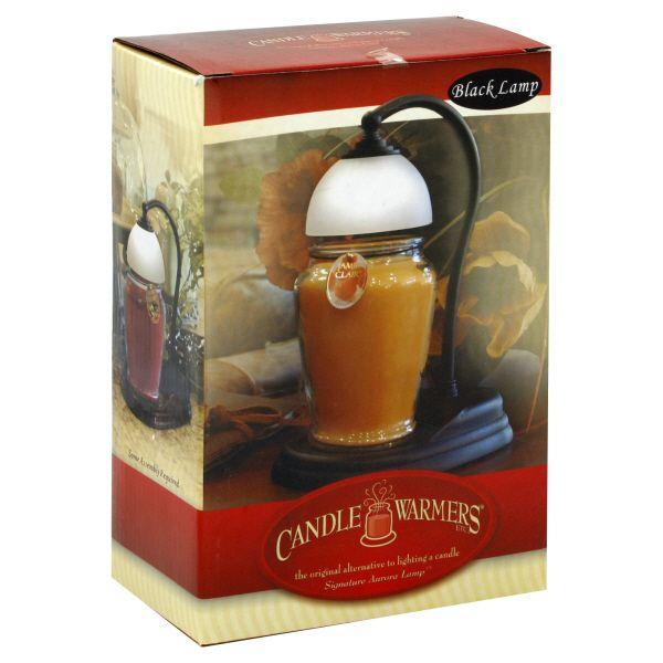 Candle Warmers Hurricane Candle Warmer Lantern Black