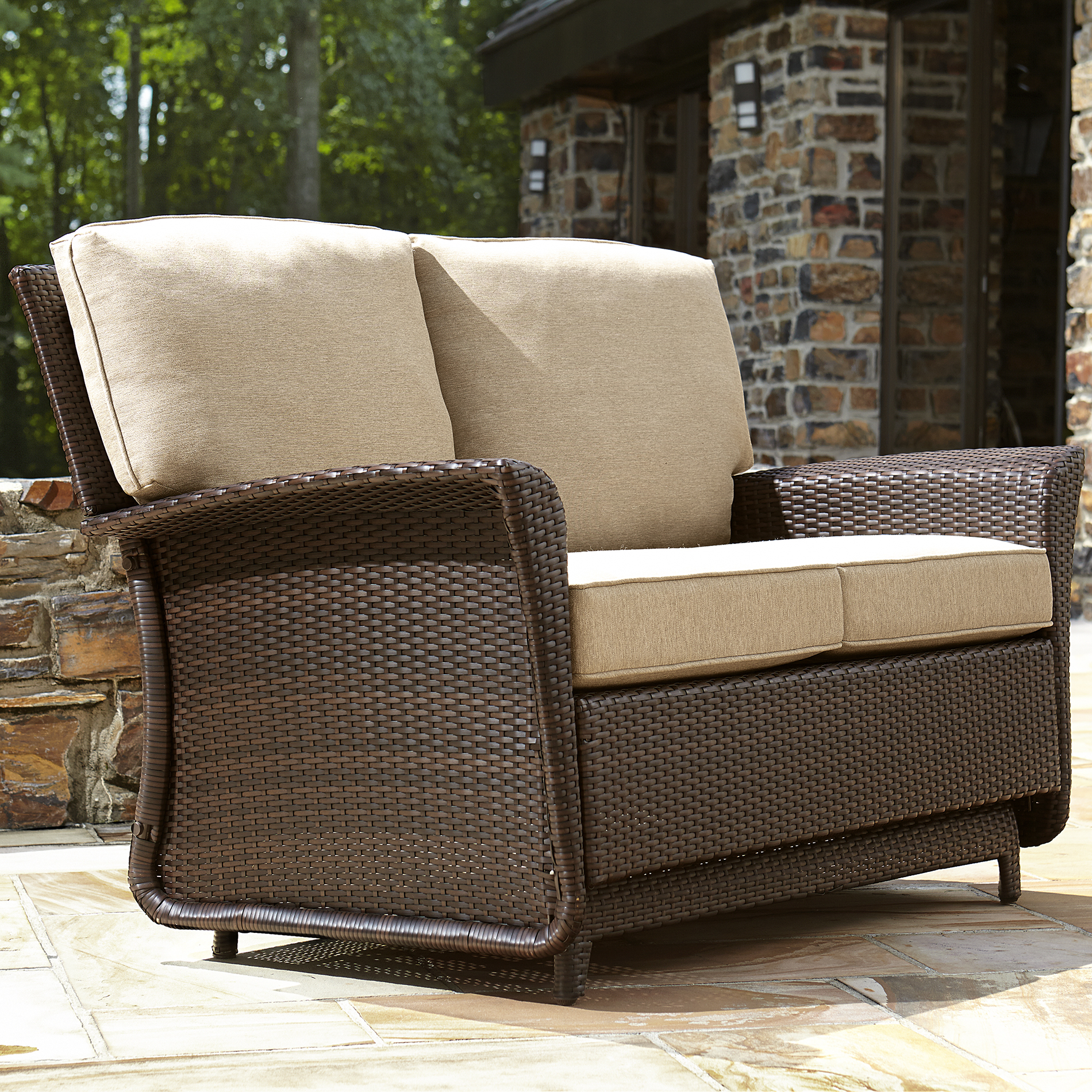 Exceptionnel Ty Pennington Style Parkside Double Glider   Limited Availability   Outdoor  Living   Patio Furniture   Outdoor Seating