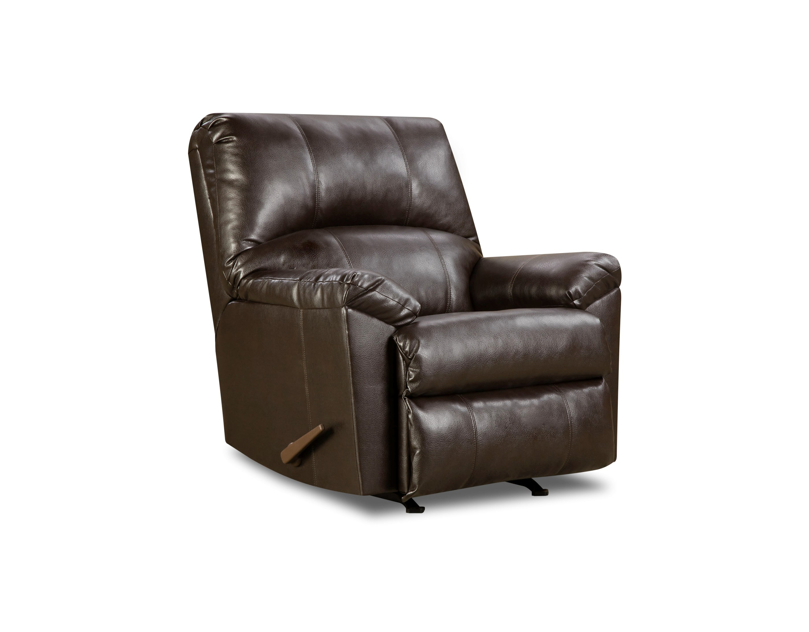 Simmons Lowell Espresso Recliner