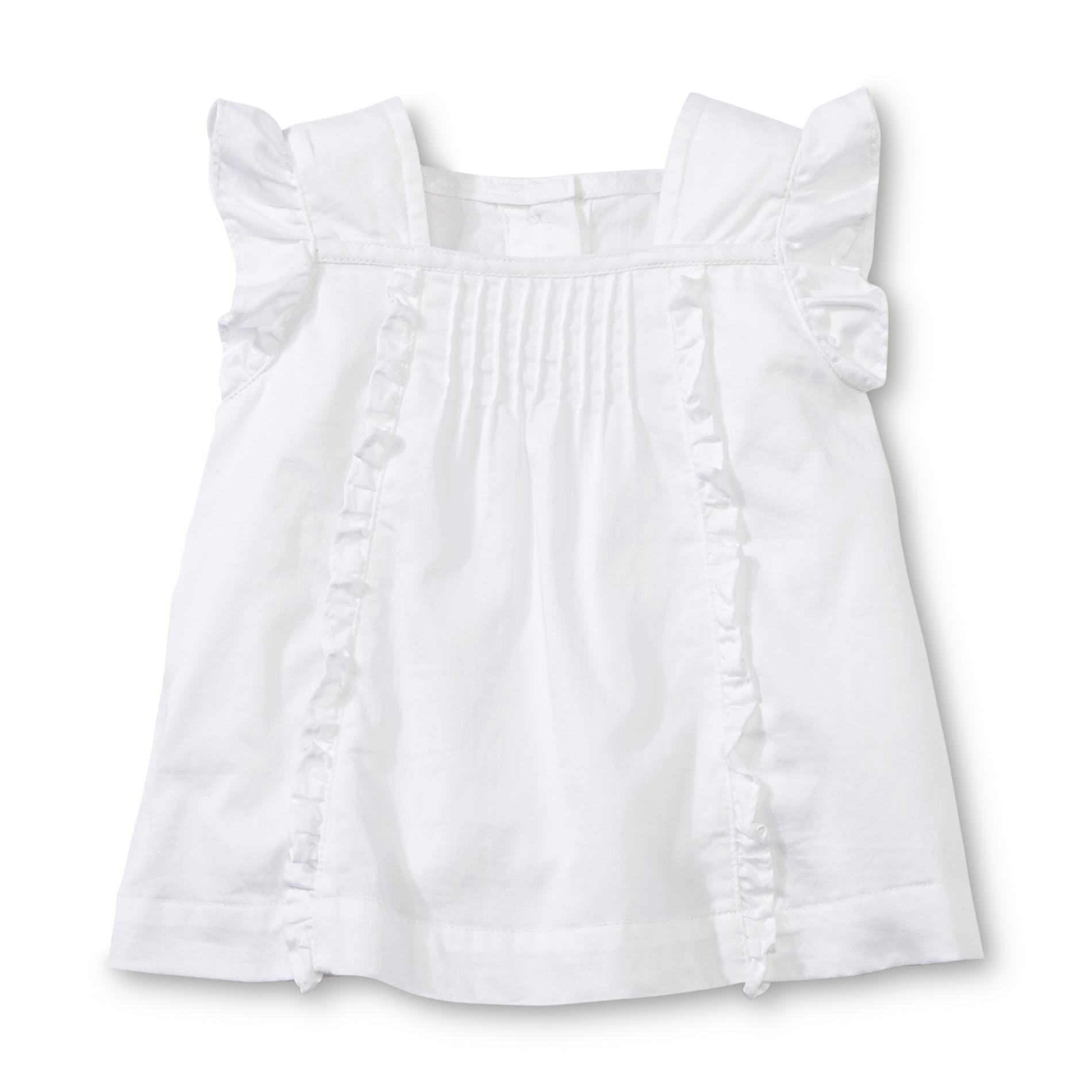 Little Wonders Newborn & Infant Girl's Ruffled Dress