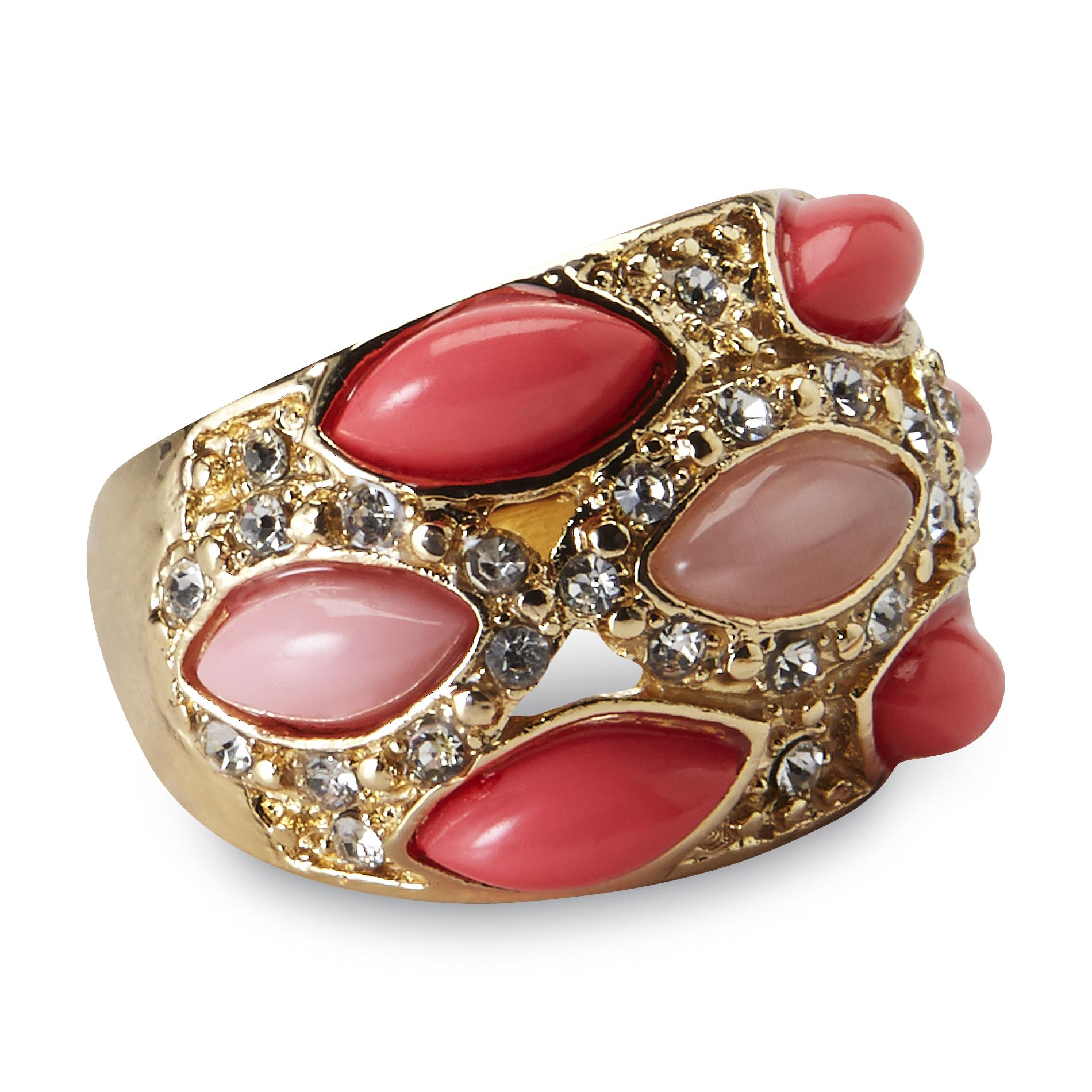 Attention Women's Cocktail Ring