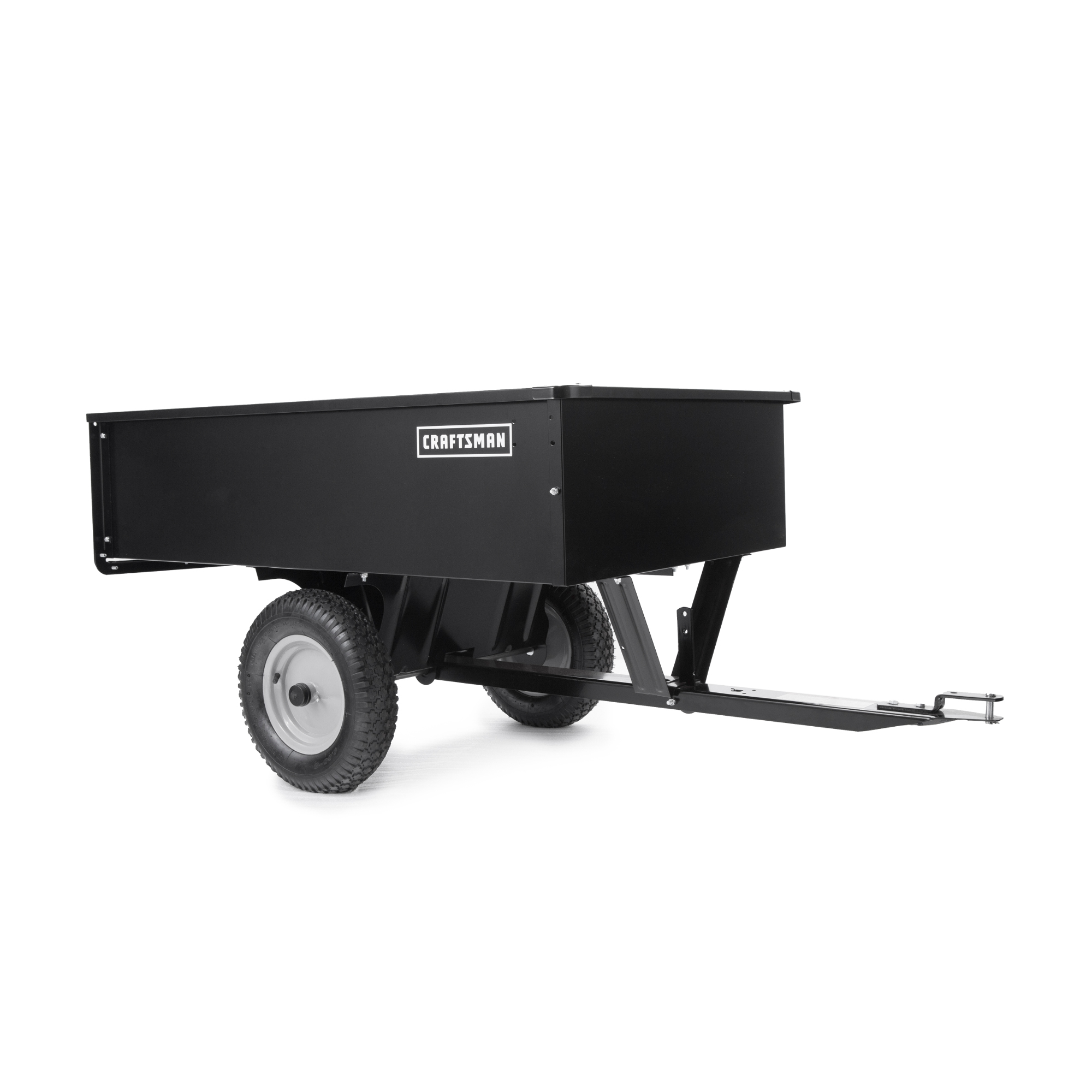 Craftsman 24355 12cu.ft. Steel Dump Cart, Black im test