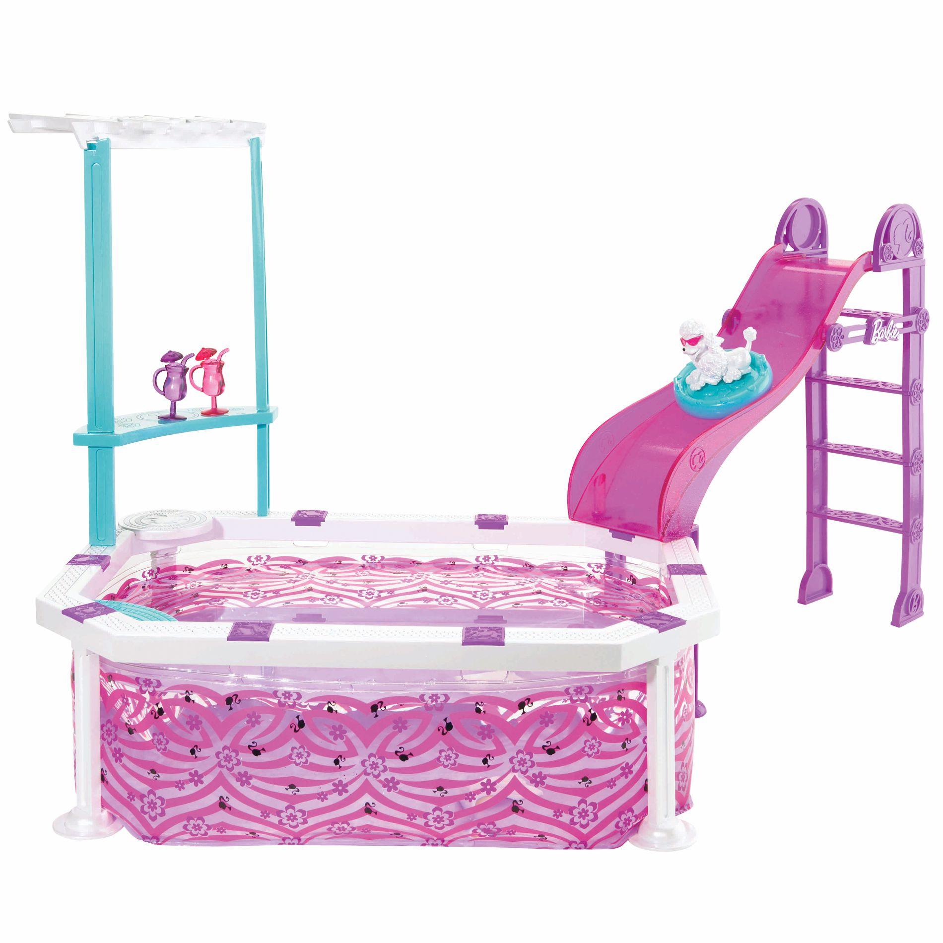 Barbie Glam Kitchen Set: Dolls & Accessories