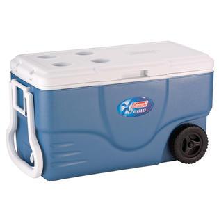 Coleman 62 Quart Xtreme Wheeled Blue Cooler 6262A748