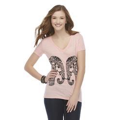 Junior's Graphic T-Shirt - Elephants at Kmart.com