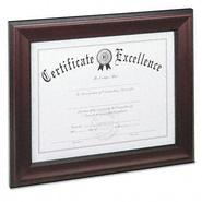 DAX Rosewood Document Frame, Wall-Mount, Wood, 8.5x11 at Sears.com