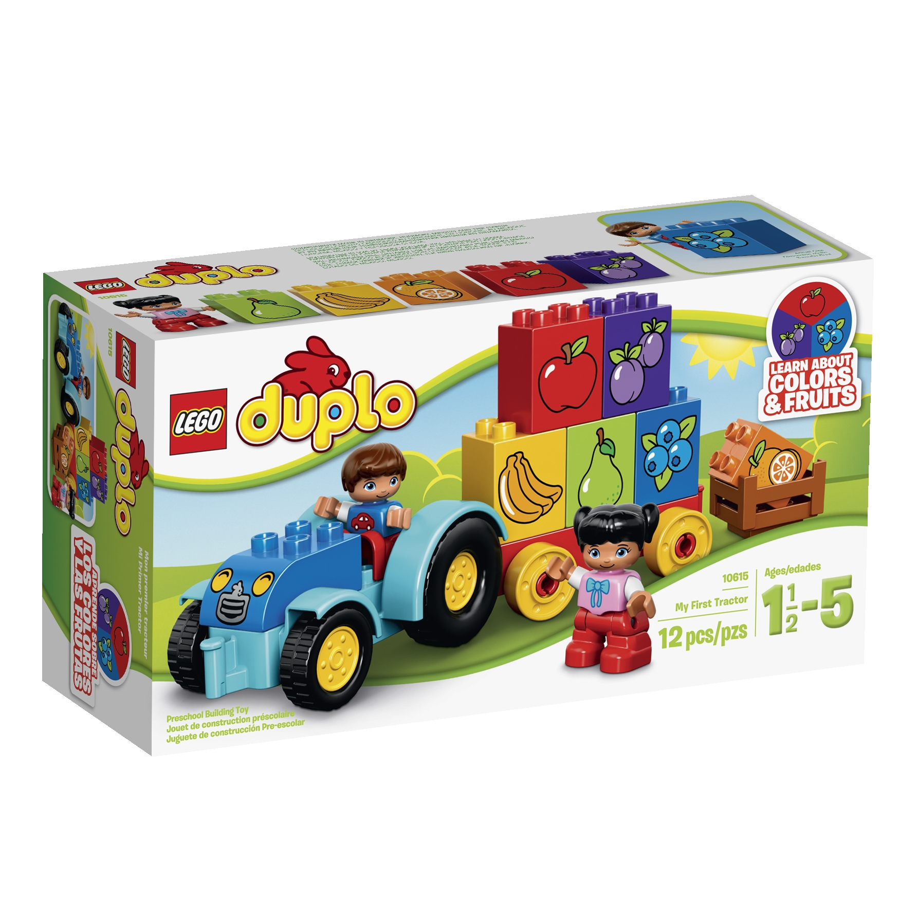 DUPLO® My First Tractor Building Set #10615