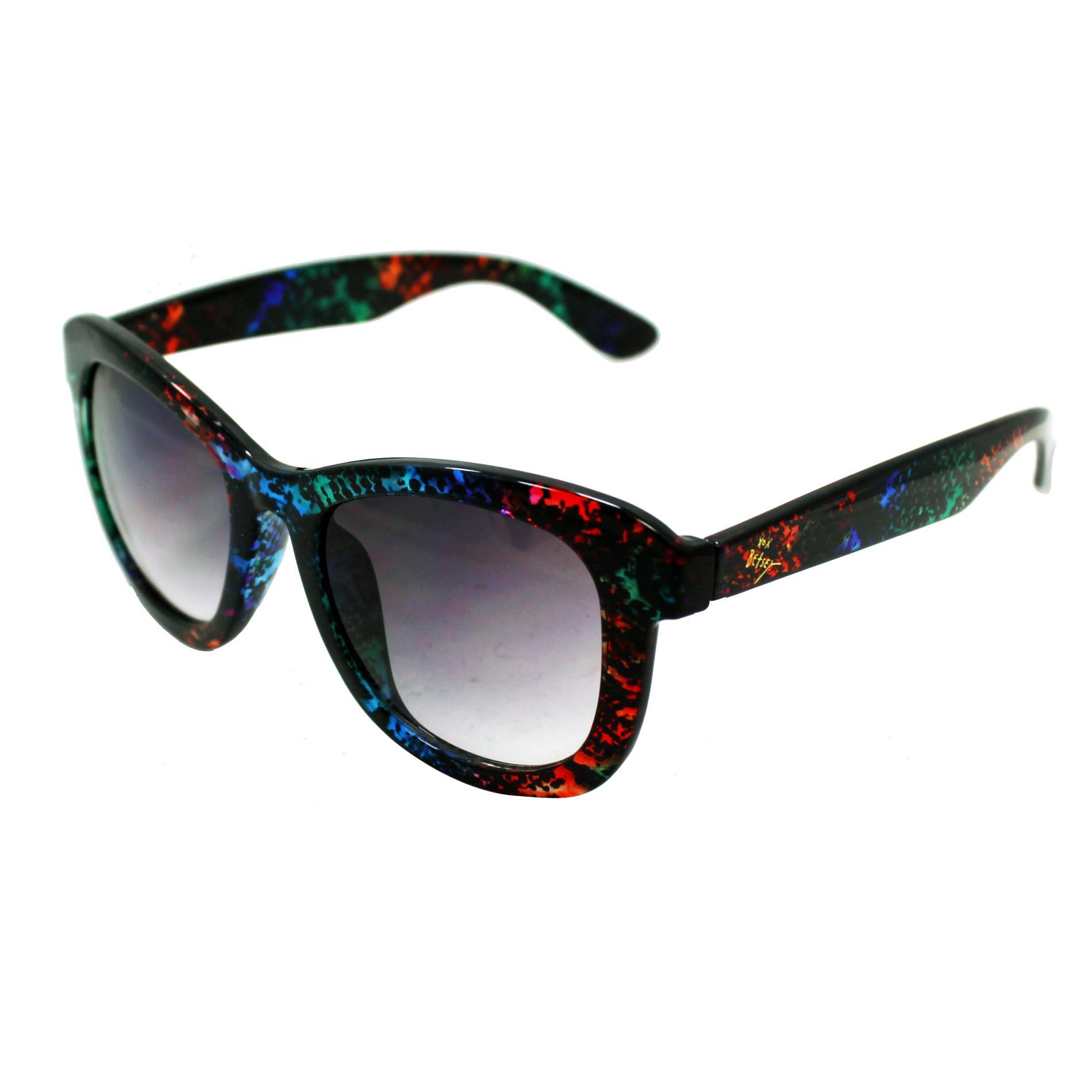 Betsyville Women's Large Retro Sunglasses - Rainbow