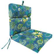 Jordan Manufacturing Co., Inc. French Edge Patio Chair Cushion in Gaya Caspian at Kmart.com