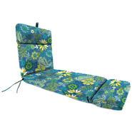 Jordan Manufacturing Co., Inc. French Edge Patio Chaise Cushion in Gaya Caspian at Kmart.com