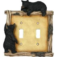 Rivers Edge Bear Double Switch Plate   Cover Crd  618 at Kmart.com