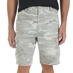 Wrangler Men's Big & Tall Twill Cargo Shorts - Camo Print at Kmart.com